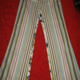 Blugi Rosner colorati Mar 38/ 40 - Pantaloni dama, Culoare: Multicolor, Lungi, Bumbac