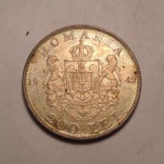 200 lei 1942 Argint 3 - Moneda Romania