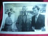 Fotografie din Filmul Avaria cu Ilarion Ciobanu, Emil Hosu dim.=18 x12 cm