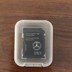 Card Mercedes A B CLA CLS E GL GLE M SD ORIGINAL navigatie Garmin Romania 2016 - Software GPS