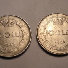 Lot 100 lei 1943 si 100 lei 1944 - Moneda Romania
