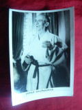 Fotografie din Filmul Omul Orchestra cu Louis de Funes , dim.= 16,5 x 12 cm