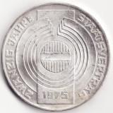 Republica Austria - 100 Schilling 1975 - Tratatul de Stat - Argint, Europa