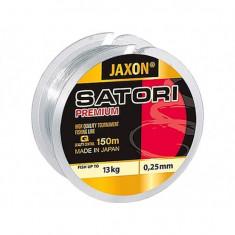 Fir monofilament Jaxon Satori Premium 0, 18mm/7kg/150m - Fir Pescuit