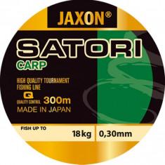 Fir monofilament Jaxon Satori Carp 0, 27mm/15kg/300m - Fir Pescuit