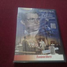 FILM DVD  SA UCIZI O PASARE CANTATOARE, Romana
