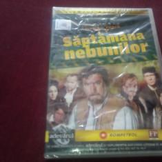 FILM DVD SAPTAMANA NEBUNILOR - Film actiune, Romana