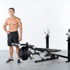 Extensie picioare optional la P-UB Powertec - Aparat multifunctionale fitness