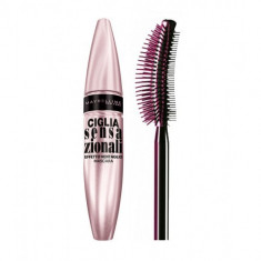 Rimel Maybelline Lash Sensational - Very Black, Negru