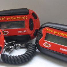 Pager Philips Coca Cola.Anii 2000. Pagere vechi, DE COLECTIE! FUNCTIONAL!
