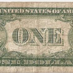 SUA USA 1 DOLAR DOLLAR 1935 D U - bancnota america