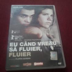 XXX FILM DVD EU CAND VREAU SA FLUIER FLUIER - Film drama, Romana