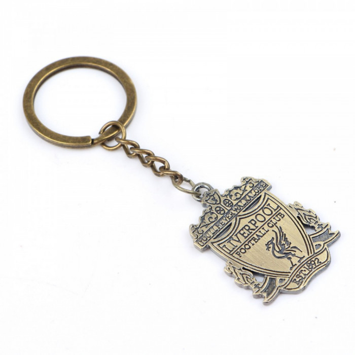 Breloc metalic Liverpool material foarte usor + ambalaj cadou