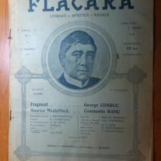 revista flacara 19 noiembrie 1911 anul 1,nr.5-art. depre george cosbuc