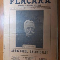 "revista flacara 16 ianuarie 1916- ""panfletarul""  de victor eftimiu"