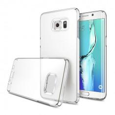 HUSA PERFECT TRANSPARENTA SAMSUNG GALAXY S6 EDGE PLUS + STYLUS PEN CADOU - Husa Telefon Samsung, Gel TPU, Carcasa