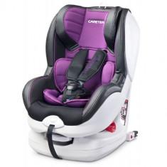 Scaun Auto Defender + Isofix 0-18 Kg Purple - Scaun auto copii grupa 0-1 (0-18 kg) Caretero
