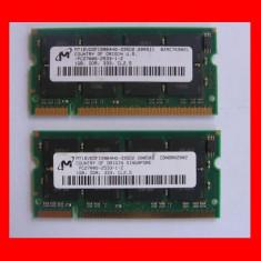 1GB SODIMM ddr1 PC2700 DDR333 333MHz, Memorie RAM laptop Micron - okazie