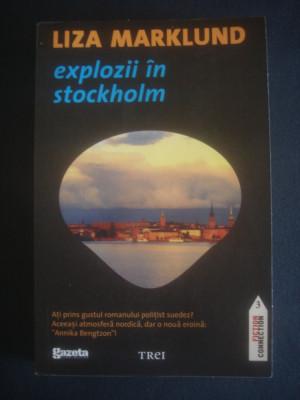 LIZA MARKLUND - EXPLOZII IN STOCKHOLM foto