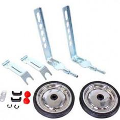 Roti ajutatoare din metal pentru bicicleta 12-20 - Accesoriu Bicicleta, Sonerii si claxoane