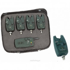 Set Avertizor Jaxon Centrala Radio Sensitive 4 Posturi - Avertizor pescuit, Electronice