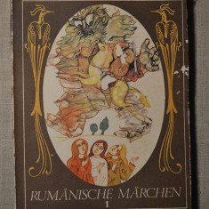 RUMANISCHE MARCHEN, carte bazme romanesti in limba germana - Carte Basme