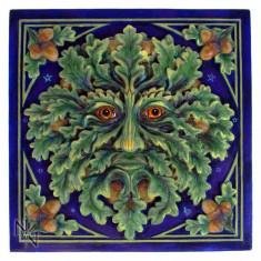 Plachetă decorativă pentru perete Spiritul stejarului