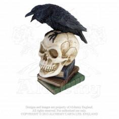 Statuetă Corbul lui Poe - Sculptura