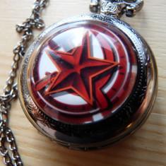 Ceas de buzunar. Model URSS. Secera si steaua sovietica.