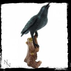 Statuetă Chemarea corbului - Sculptura