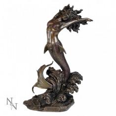 Statuetă bronz Zeița mării - Sculptura