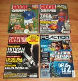 Lot 8 reviste straine jocuri PC 2001-2007