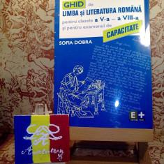 Sofia Dobra - Ghid de limba si literatura romana pentru clasele V - VIII A2974