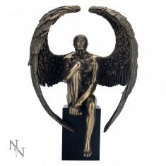 Statuetă bronz Îngerul gânditor - Sculptura