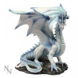 Statuetă dragon de gheață Grawlbane - Sculptura