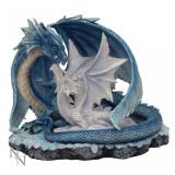 Statuetă dragon cu pui Iubire de mamă - Sculptura