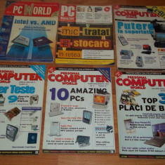 Lot 12 reviste PC IT Romania (Personal Computer World, Xtreme PC) 2002-2005 - Revista IT