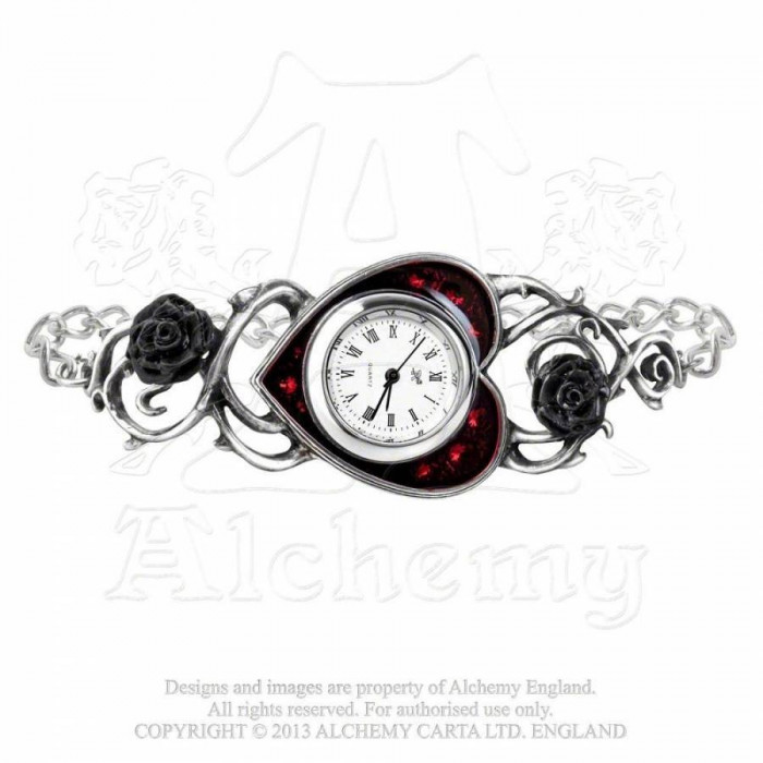 Ceas - brățară Șirag de trandafiri foto mare