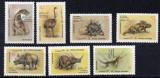 AFGANISTAN 1988,  Fauna - Animale preistorice, serie neuzata, MNH, Nestampilat