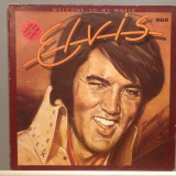 ELVIS PRESLEY - WELCOME TO MY WORLD (1977/RCA REC /RFG) - disc Vinil/Vinyl