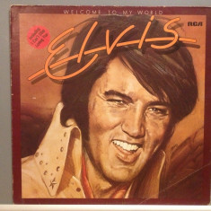 ELVIS PRESLEY - WELCOME TO MY WORLD (1977/RCA REC /RFG) - disc Vinil/Vinyl - Muzica Rock & Roll rca records