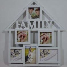 Rama foto casa Family (culoare: alb)