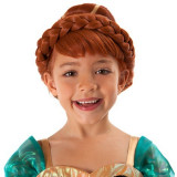 Peruca Anna Frozen - Costum petrecere copii