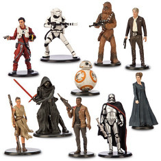 Set Figurine Star Wars Deluxe - The Force Awakens - Figurina Desene animate
