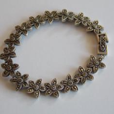Bratara de argint cu marcasite - 40 - Bratara argint