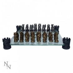 Joc șah Regatul dragonului - Set sah