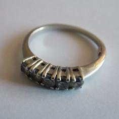 Inel de argint cu zirconii - 491 - Inel argint