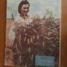 revista femeia iunie 1951-arti. despre razboiul din coreea