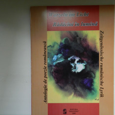 Radacini in lumina carte de poezie [Nichita Stanescu Mircea Dinescu Petre Stoica - Carte poezie