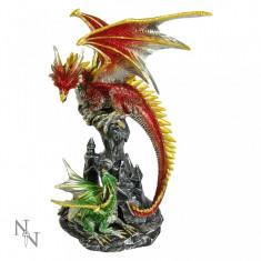 Statuetă dragon de foc - Sculptura